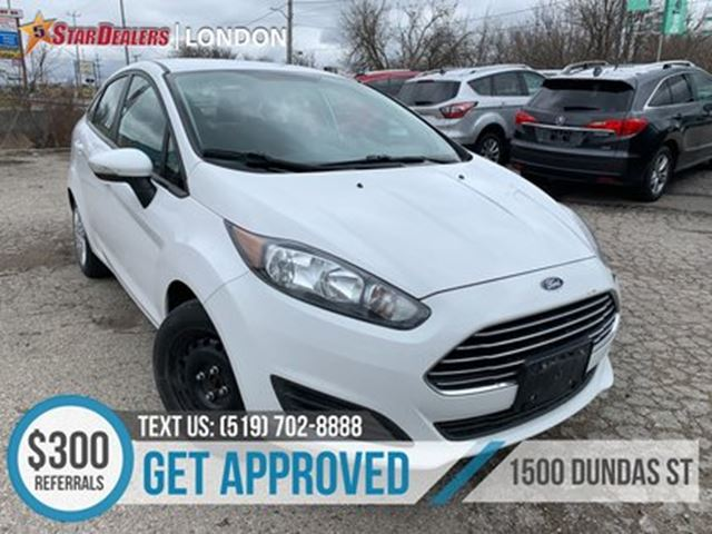 2014 FORD FIESTA SE   CAR LOANS APPROVED in London, Ontario