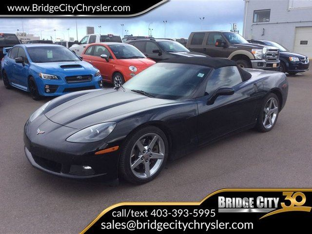 2007 CHEVROLET CORVETTE 2DR Conv in Lethbridge, Alberta