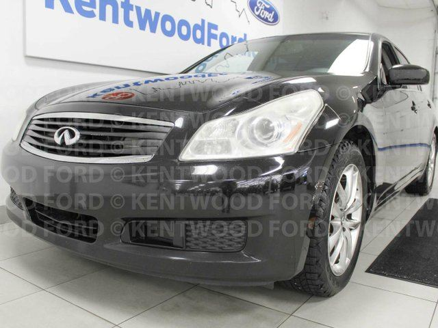 2008 INFINITI G35 x G35X with sunroof, heated power leather seats, push start/stop and back up cam in Edmonton, Alberta