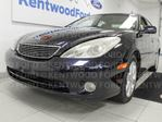 2005 Lexus ES 330 ES330 with heated/cooled power leather seats, sunroof, comfortable and spacious backseat. It may be an '05 but it has all the goodies in Edmonton, Alberta