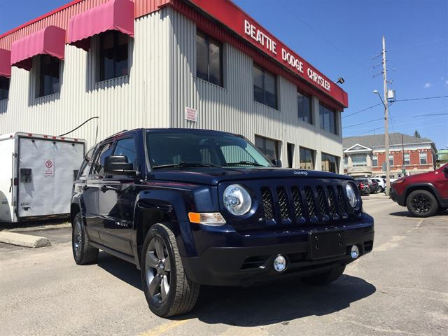 2014 Jeep Patriot High Altitude LEATHER/ BLUETOOTH/ HEATED SEATS in Brockville, Ontario