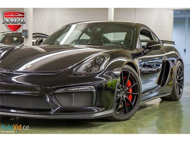 2016 PORSCHE Cayman GT4 Rare  ACCIDENT FREE  6 SPEED MANUAL in Oakville, Ontario