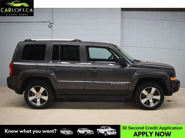2016 JEEP PATRIOT Sport/North 4WD- UCONNECT * HEATED SEATS * LEATHER in Kingston, Ontario
