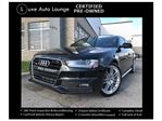 2014 Audi A4 Progressiv NAVIGATION, S-LINE PKG, SUNROOF, LOADED!! CPO WARRANTY UNTIL 2020 or 100,000km!! in Orleans, Ontario