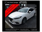 2015 Mazda MAZDA3 GX SPORT HATCHBACK! ONLY 46K! POWER GROUP, BLUETOOTH, A/C, PUSH-BUTTON START! LUXE CERTIFIED PRE-OWNED! in Orleans, Ontario