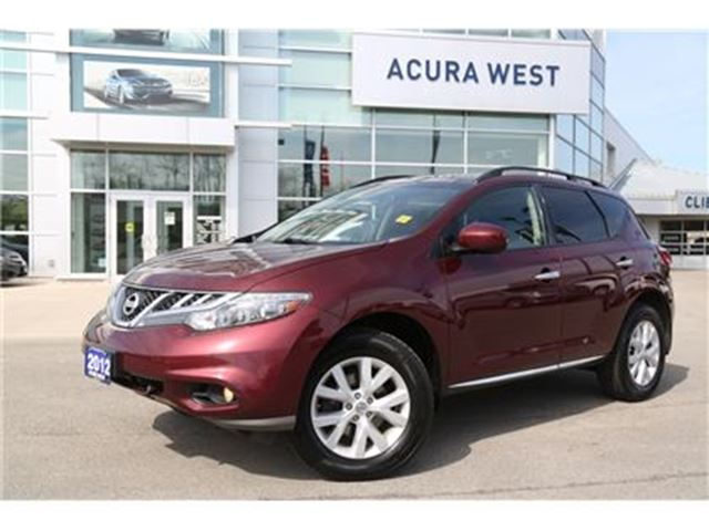 2012 NISSAN MURANO SL (CVT) New tires in London, Ontario