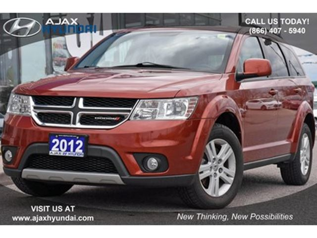 2012 Dodge Journey SXT & CrewSXT 4D Utility FWD in Ajax, Ontario