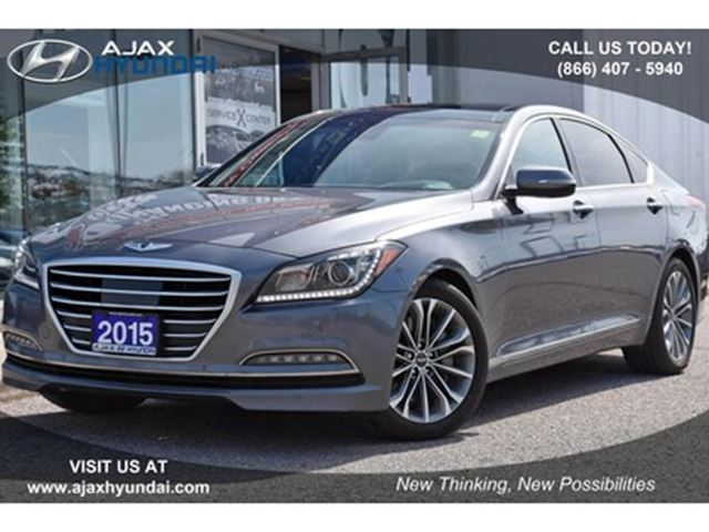 2015 Hyundai Genesis 3.8 Technology in Ajax, Ontario