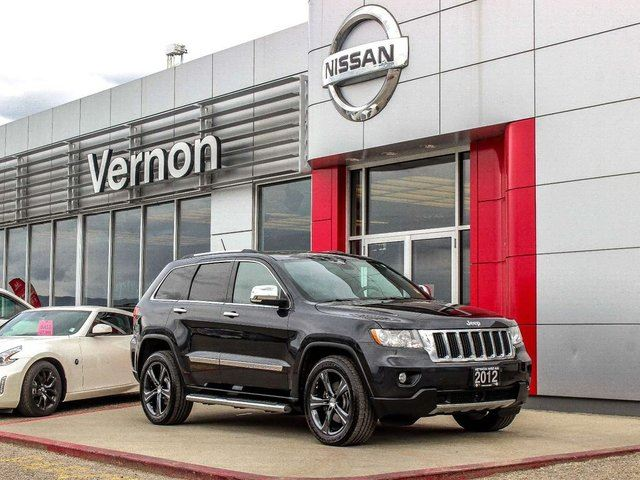 2012 JEEP GRAND CHEROKEE Limited 4D Utility 4WD in Kelowna, British Columbia