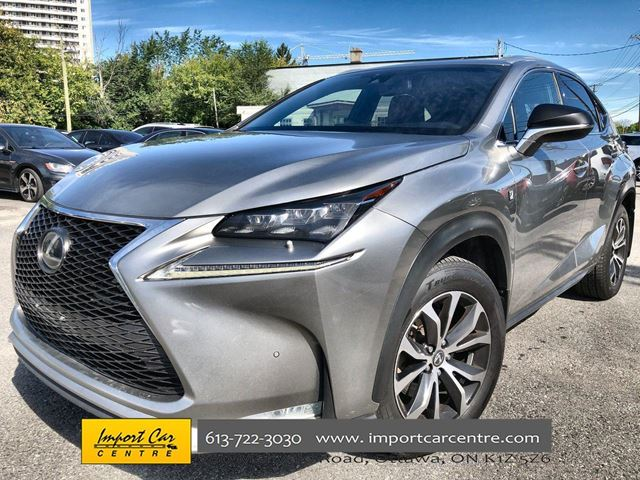 2016 LEXUS NX 200T F Sport HUD H.SEATS PERFORATED LEATHER in Ottawa, Ontario