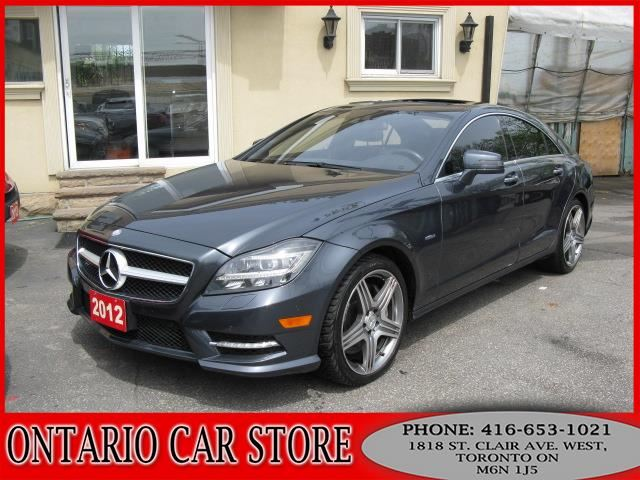 2012 MERCEDES-BENZ CLS550 4-MATIC AMG PKG. !!!NO ACCIDENTS!!! in Toronto, Ontario