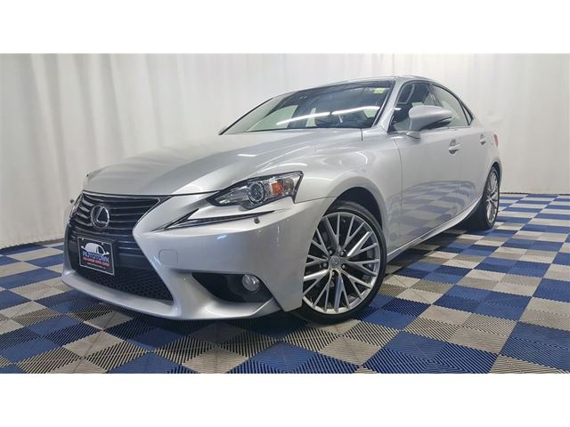 2014 LEXUS IS 250 AWD/ACCIDENT FREE/SUNROOF/LEATHER/REAR CAM in Winnipeg, Manitoba