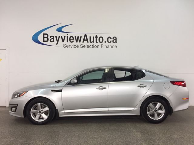 2015 KIA OPTIMA LX - ALLOYS! HTD STS! BLUETOOTH! PWR GROUP! CRUISE! in Belleville, Ontario