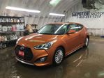 2013 Hyundai Veloster TURBO*NAVIGATION*POWER PANORAMIC SUNROOF*LEATHER*B in Cambridge, Ontario
