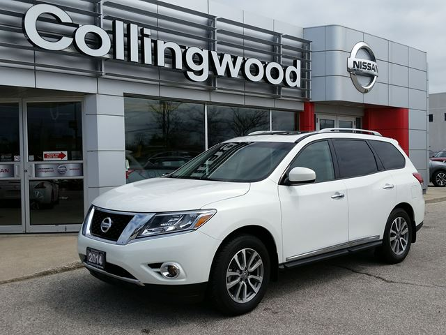 2014 Nissan Pathfinder SL PREMIUM *1 OWNER* in Collingwood, Ontario
