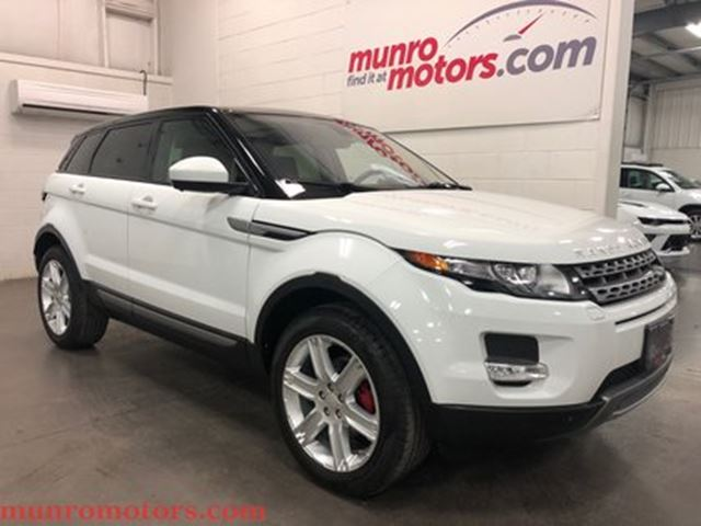 2015 LAND ROVER RANGE ROVER EVOQUE One owner low kms clean Carproof. Pure Plus Naviga in St George Brant, Ontario