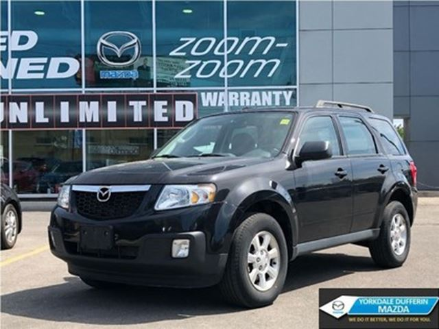 2011 MAZDA Tribute GX / LEATHER / POWER GROUP / CLEAN CARPROOF!!! in Toronto, Ontario