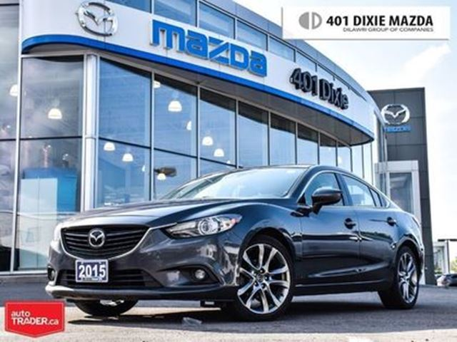 2015 MAZDA MAZDA6 GT-TECH, ONEOWNER,NOACCIDENTS,1.9%FINANCEAVAILABLE in Mississauga, Ontario