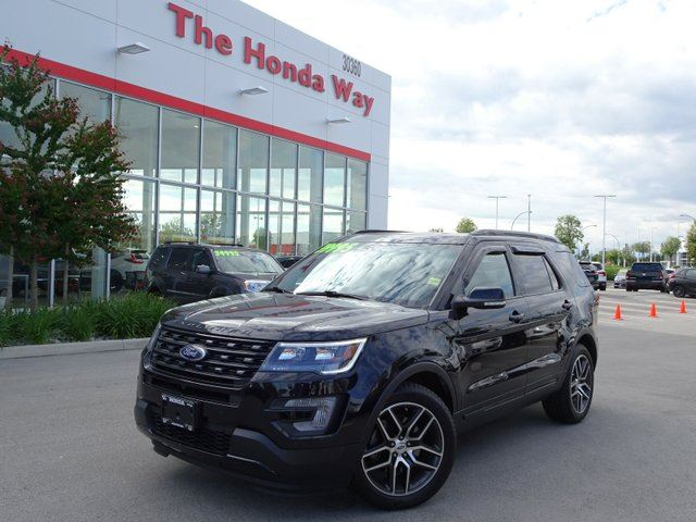2016 FORD EXPLORER Sport 4WD in Abbotsford, British Columbia