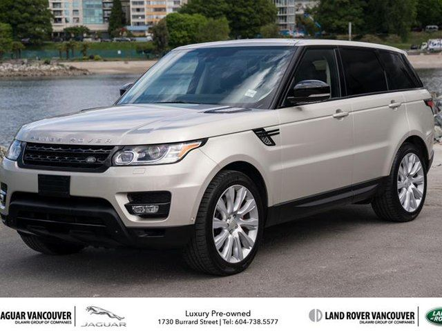 2014 LAND ROVER RANGE ROVER Sport V8 Supercharged Dynamic (2) in Vancouver, British Columbia