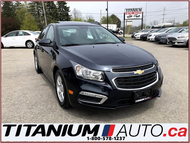 2016 CHEVROLET CRUZE 2-LT+Camera+Sunroof+Leather Heated Power Seats+ in London, Ontario