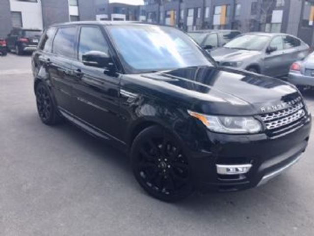 2017 LAND ROVER RANGE ROVER Sport HSE AWD 3.0L TURBOCHARGED DIESEL V6 in Mississauga, Ontario
