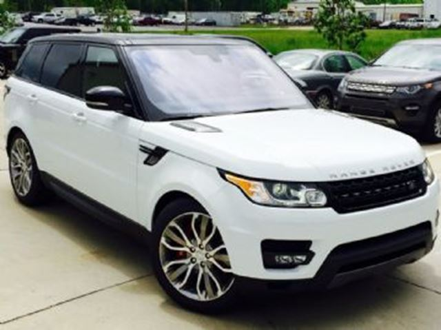 2016 LAND ROVER RANGE ROVER Sport 4WD V8 Supercharged Dynamic in Mississauga, Ontario