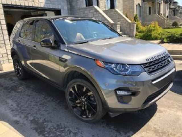 2016 LAND ROVER DISCOVERY HSE Luxury, 2.0-liter turbo 4WD, FULLY LOADED in Mississauga, Ontario