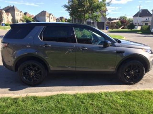 2017 LAND ROVER DISCOVERY HSE-AWD-NAVIGATION/CUIR TOIT-PROTECTION USURE in Mississauga, Ontario