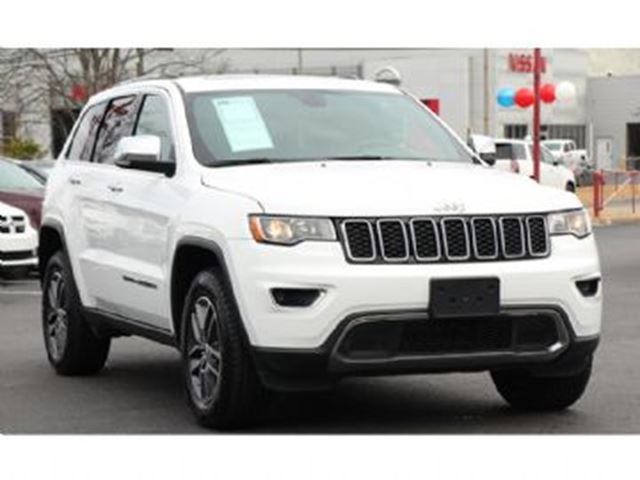 2017 JEEP Grand Cherokee Limited AWD in Mississauga, Ontario