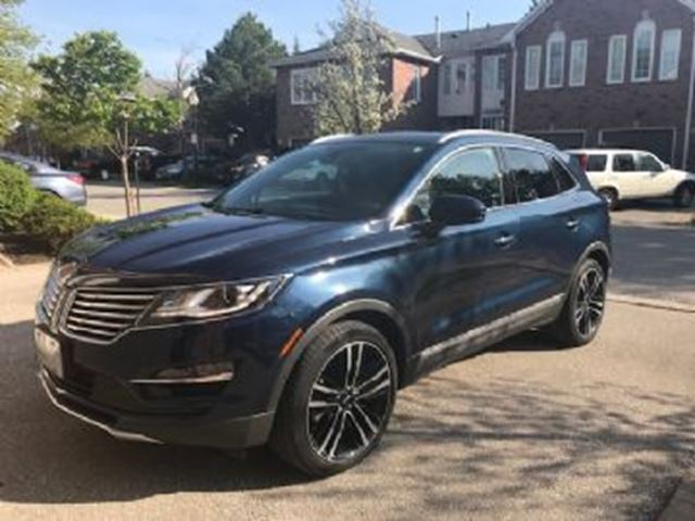 2017 LINCOLN MKC AWD Resrve in Mississauga, Ontario