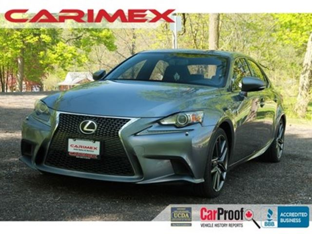 2014 LEXUS IS 350 F-Sport   AWD   CERTIFIED in Kitchener, Ontario