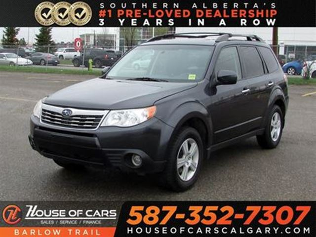 2010 SUBARU FORESTER 2.5 X Touring Package in Calgary, Alberta