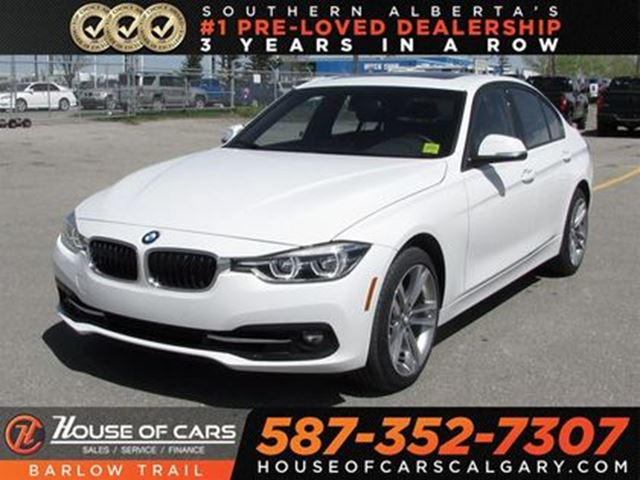 2018 BMW 3 SERIES xDrive / Navi / Sunroof / Back Up camera in Calgary, Alberta