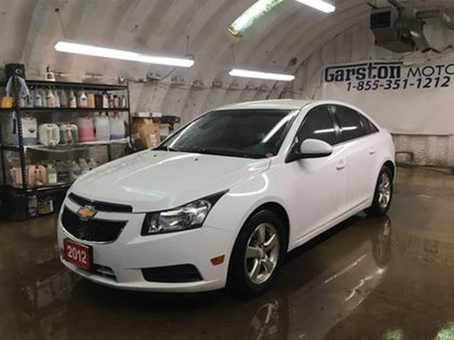2012 CHEVROLET CRUZE LT*PHONE CONNECT*KEYLESS ENTRY w/REMOTE START*POWE in Cambridge, Ontario