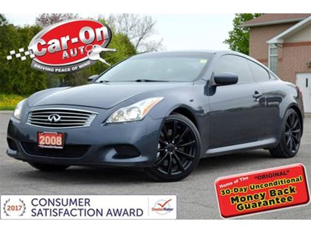 2008 INFINITI G37 Sport LEATHER SUNROOF HTD SEATS BOSE LOADED in Ottawa, Ontario