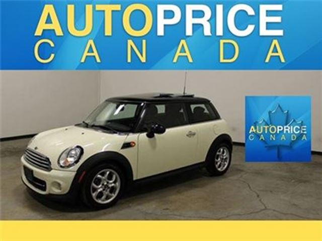 2013 MINI COOPER PANORAMIC ROOF LEATHER AUTO in Mississauga, Ontario