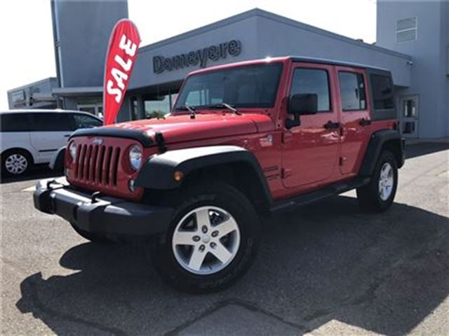 2015 JEEP WRANGLER Unlimited Sport FULLY LOADED in Simcoe, Ontario