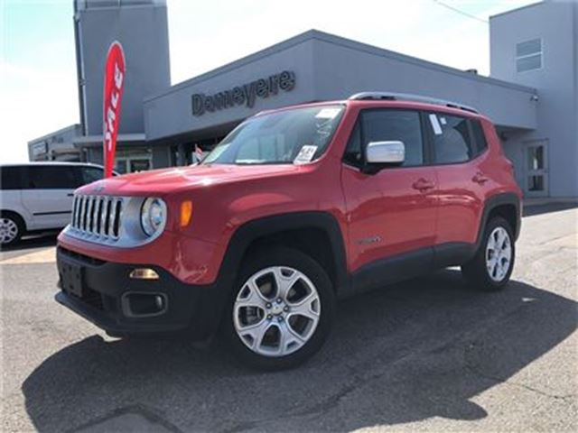 2017 JEEP RENEGADE Limited FULLY LOADED in Simcoe, Ontario