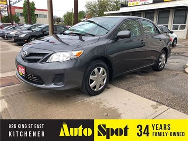 2013 TOYOTA COROLLA LE/LOW, LOW KMS/PRICED-QUICK SALE! in Kitchener, Ontario