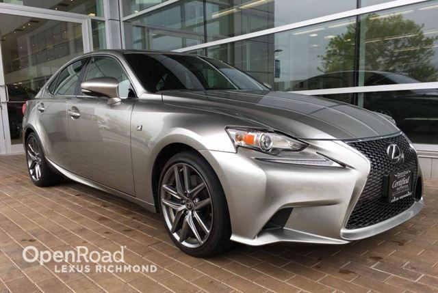 2016 LEXUS IS 300 F Sport Series 1 - POWER MOONROOF/POWER MOONROO in Richmond, British Columbia