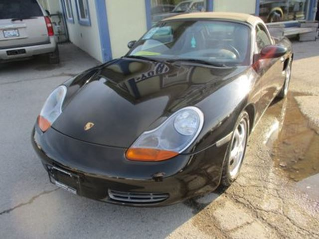 1997 PORSCHE BOXSTER 'GREAT KM'S' POWERFUL 'SHARP' 2 PASSENGER 2.5L  in Bradford, Ontario