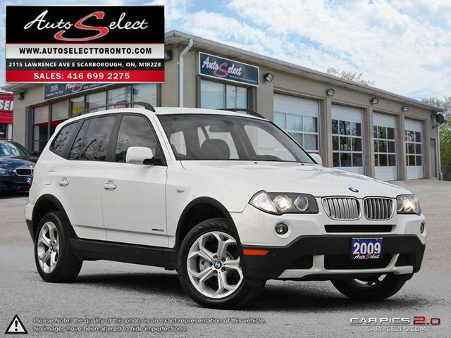 2009 BMW X3 xDrive30i AWD ONLY 176K! **CLEAN CARPROOF** EXECUTIVE PKG in Scarborough, Ontario