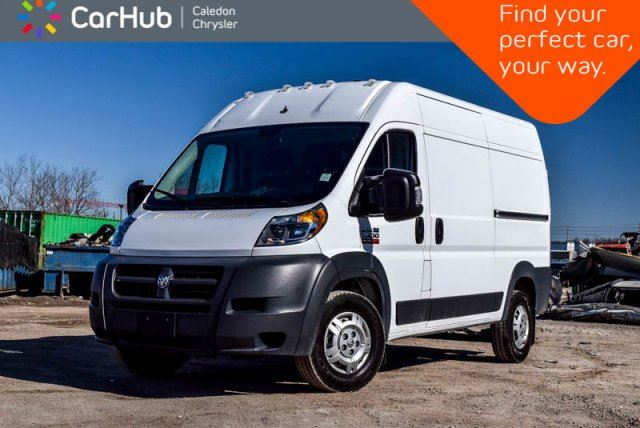 2018 RAM PROMASTER 2500 High Roof 159 WB Only 28KM Backup Cam Bluetooth Tow Group Pwr Windows Pwr Locks Keyless Entry  in Bolton, Ontario