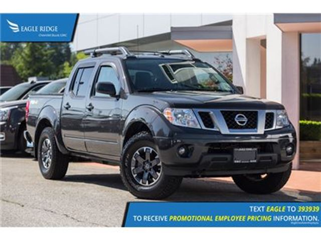 2015 NISSAN FRONTIER Fully Loaded, Sunroof, Tonneau Cover in Coquitlam, British Columbia