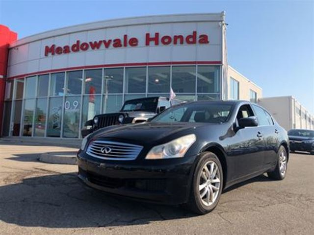 2007 INFINITI G35 Luxury in Mississauga, Ontario