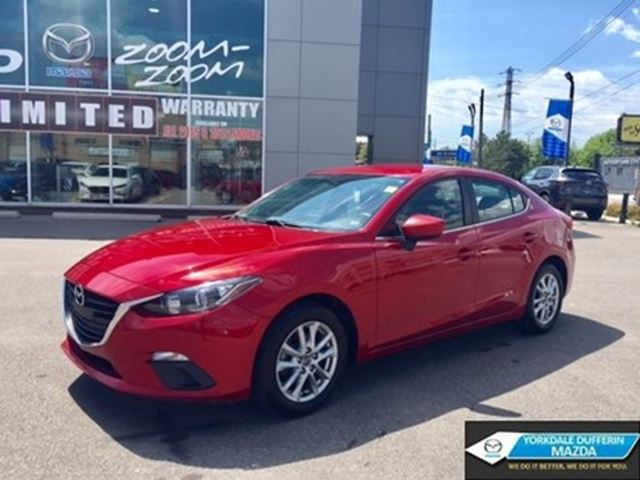 2014 MAZDA MAZDA3 GS-SKY / HEATED SEATS / REAR CAM / CPO!!! in Toronto, Ontario