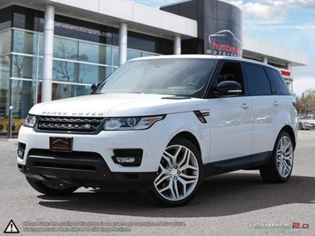 2014 LAND ROVER RANGE ROVER Sport Supercharged Autobiography Rear Entertainment in Mississauga, Ontario