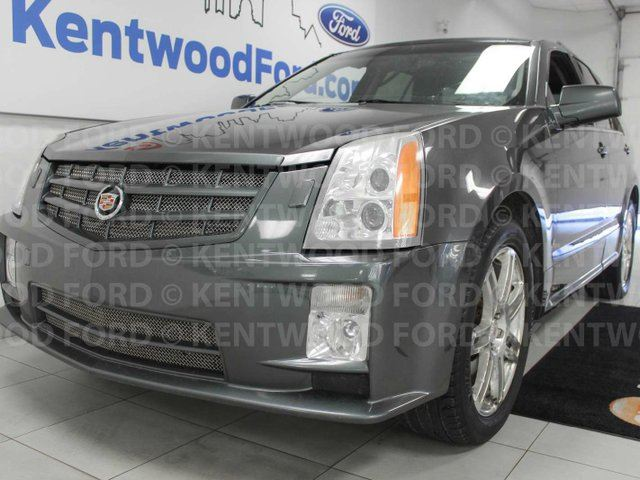 2008 CADILLAC SRX SRX4- sunroof, heated power leather memory seats, power liftgate and an extremely spacious hatch in Edmonton, Alberta