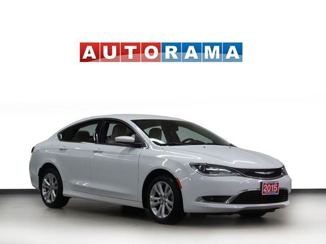 2015 CHRYSLER 200 LIMITED NAVIGATION ALLOY WHEELS in North York, Ontario
